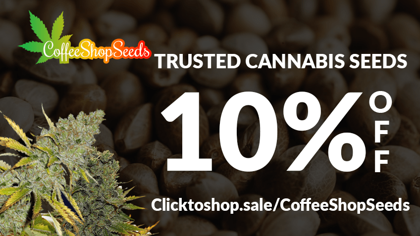 10% OFF Coffee Shop Seeds coupon!