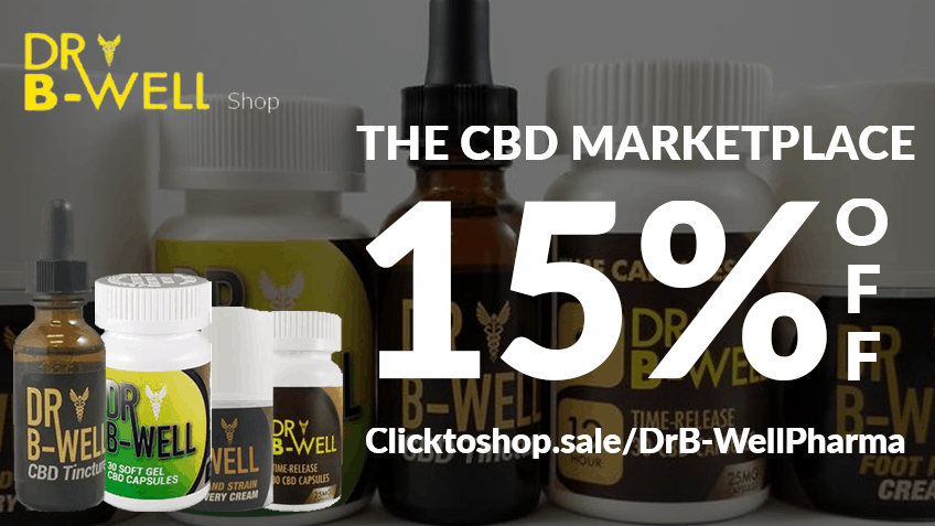 Dr B Well Pharma Coupon Code discounts promos save on cannabis online Webiste