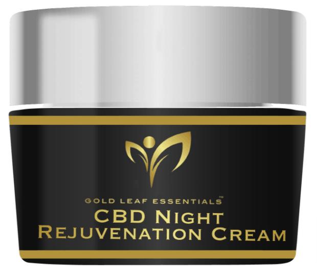 Gold Leaf Essentials CBD Coupon Code night cream