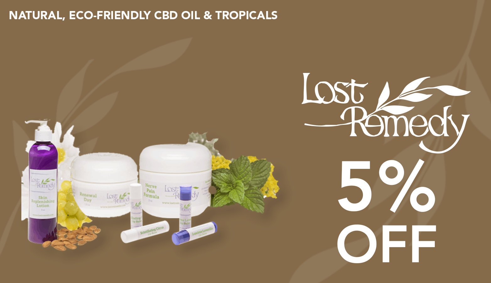 Lost Remedy Coupon Code discounts promos save on cannabis online Website redeisgn
