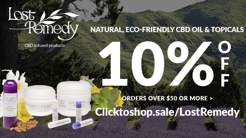 Get Lost Remedy coupon codes here! CBD topicals online
