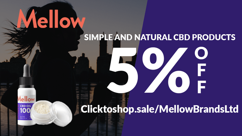 Mellow Brands Ltd Coupon Code discounts promos save on cannabis online Website