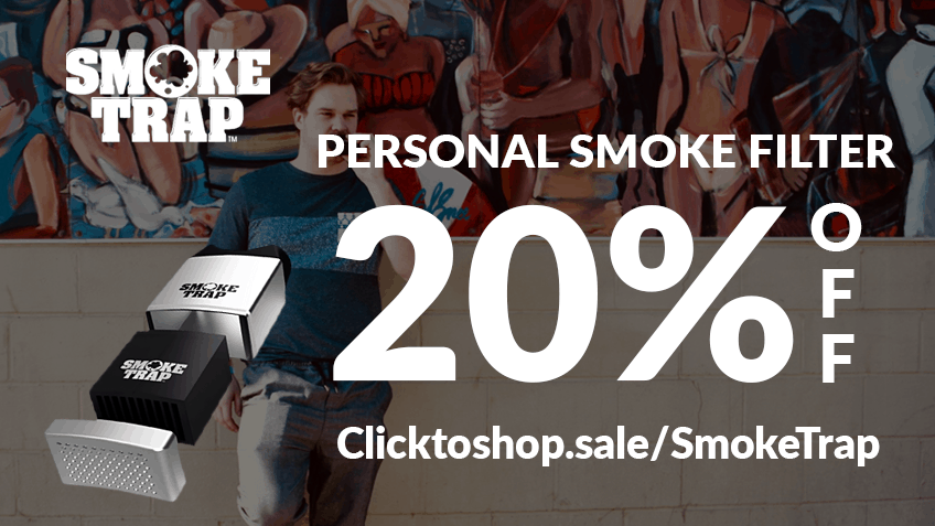 Smoke Trap Coupon Code discounts promos save on cannabis online Website