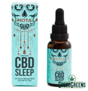 Speed Greens CBD Coupons Mota Melatonin Tinctures
