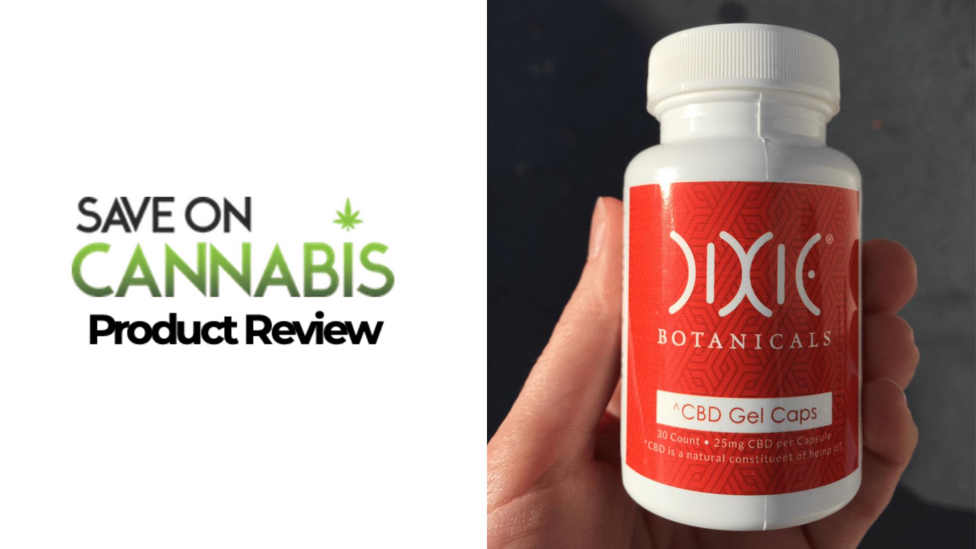 dixie botanicals cbd gel caps review save on cannabis Website