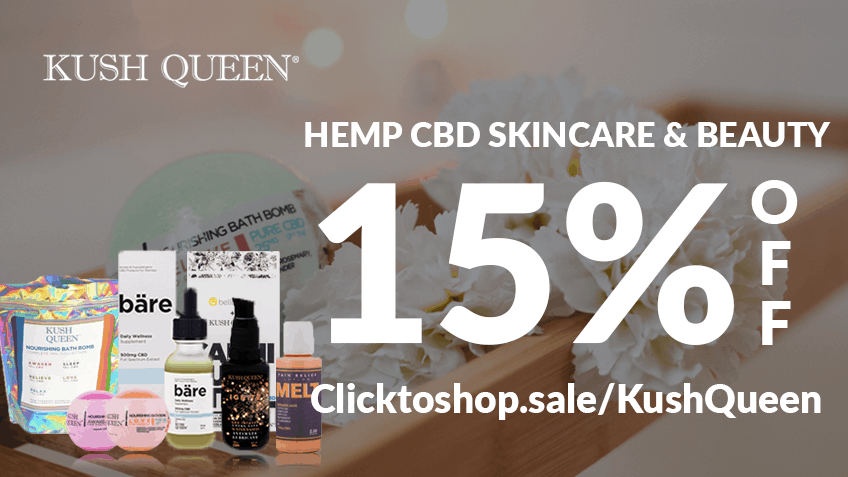 Kush Queen CBD Coupon Code discounts promos save on cannabis online Website