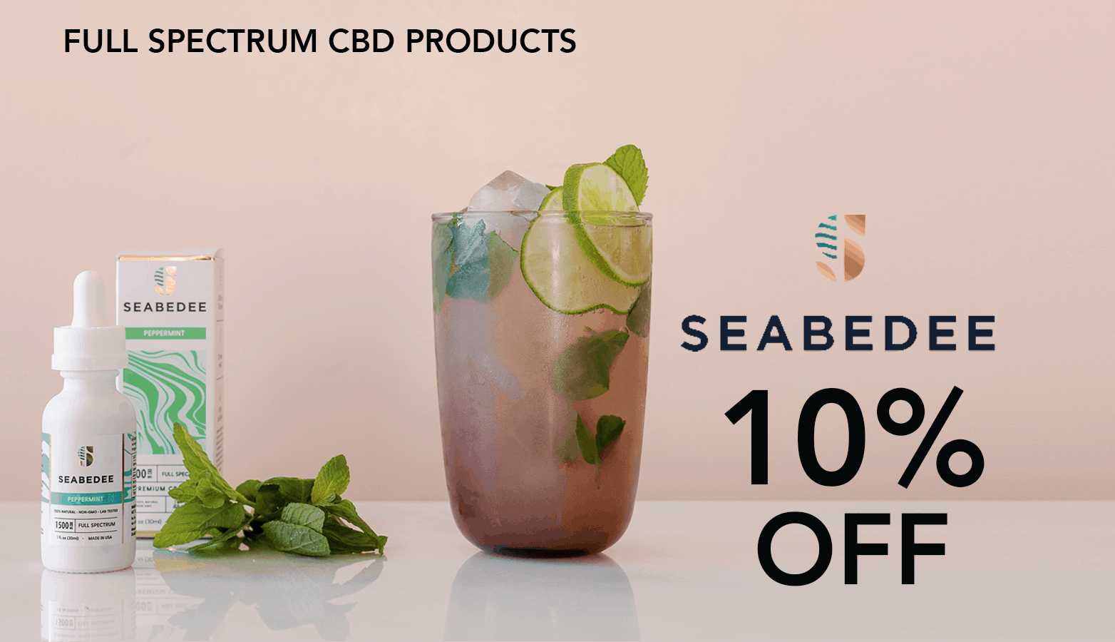 Seabedee CBD Coupon Code Offer Website