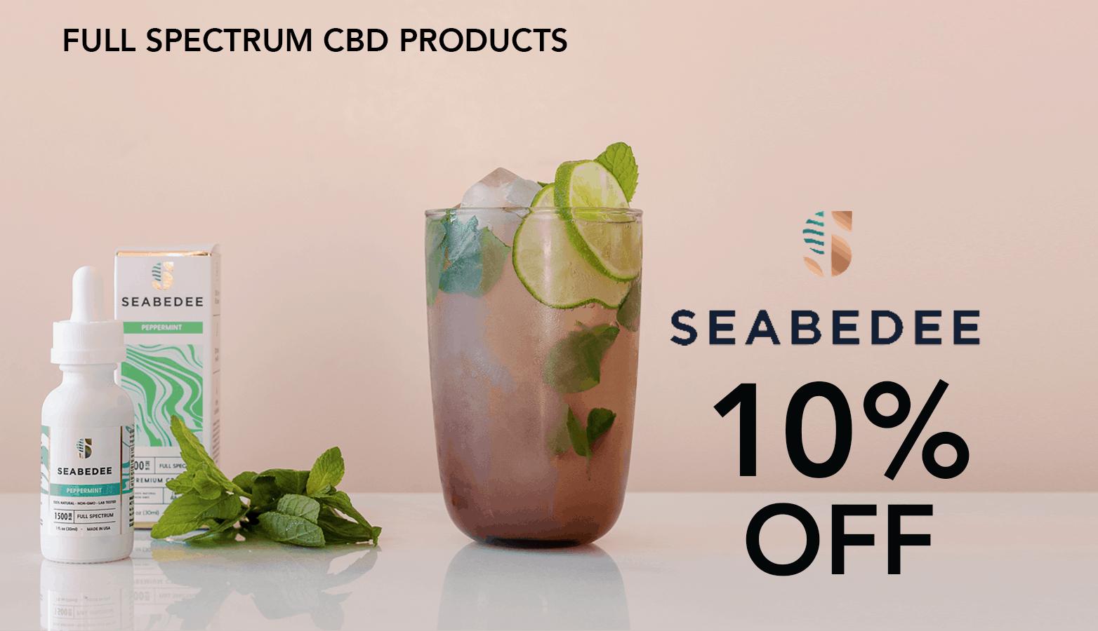 Seabedee CBD Coupon Code Offer Website