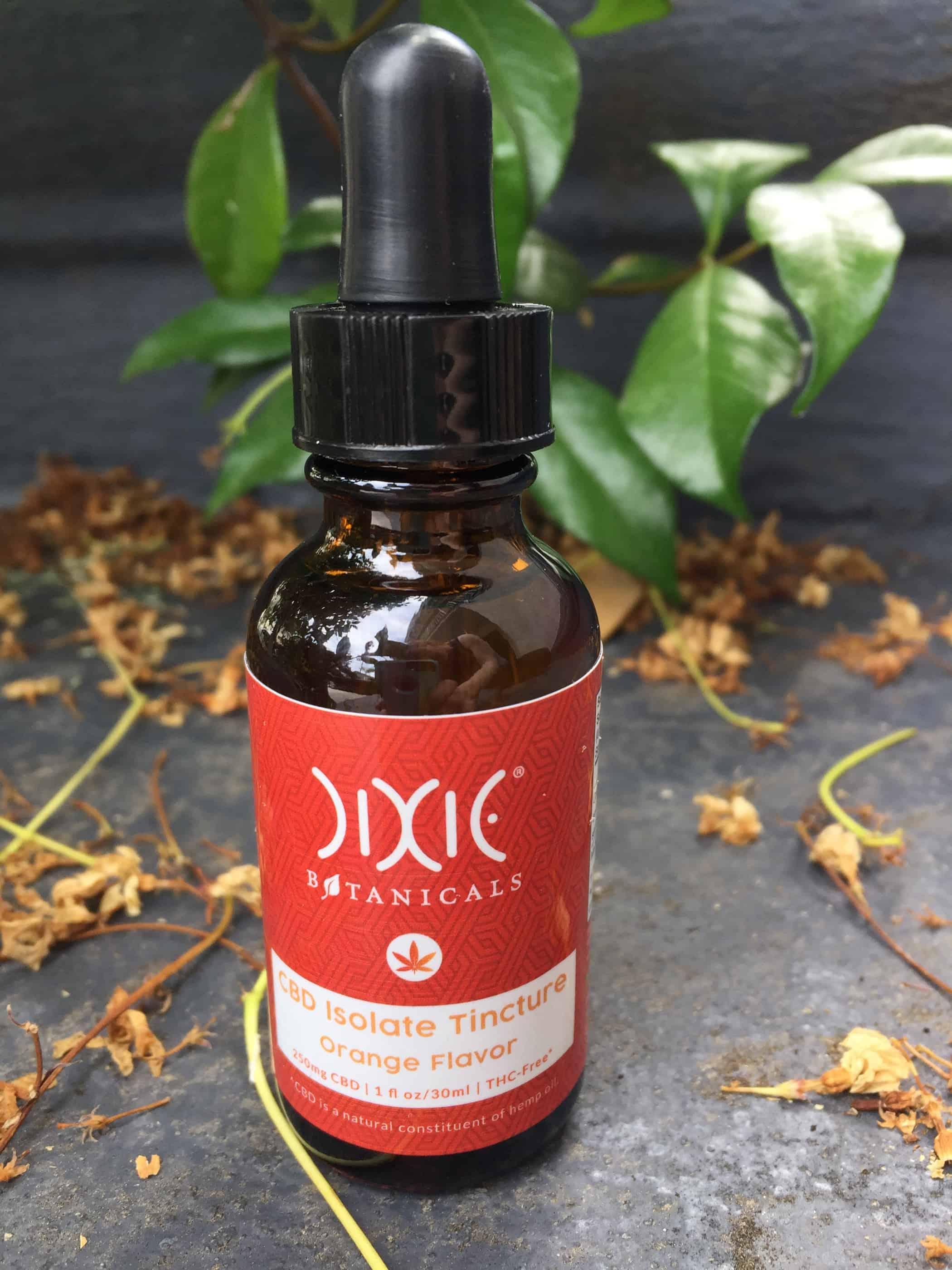 CBD Review: Dixie Botanicals CBD Isolate Tincture Orange Flavor