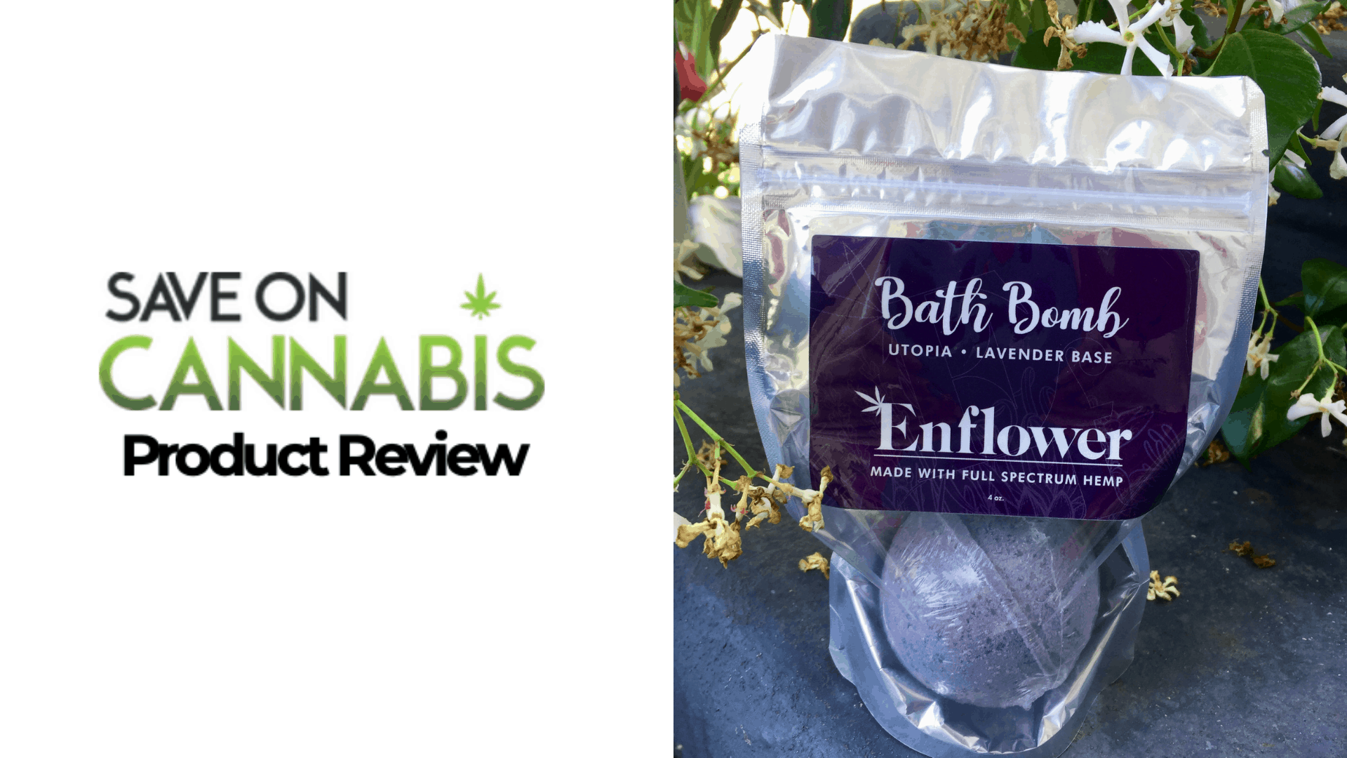 enflower cbd bath bomb utopia lavender save on cannabis Website