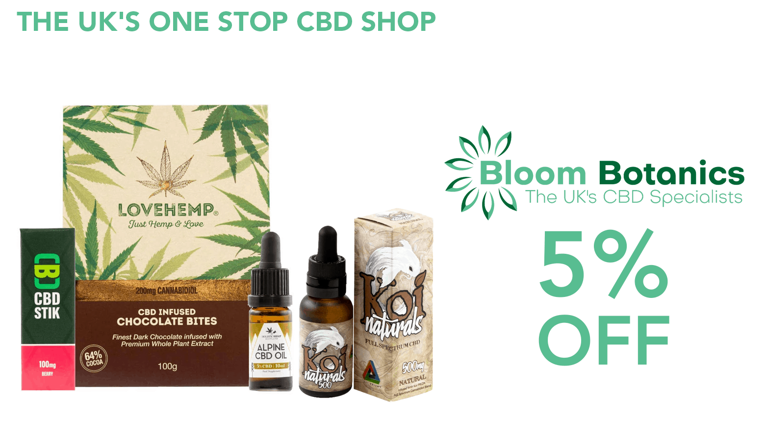 Bloom Botanics CBD Coupon Code discounts promos save on cannabis online Website