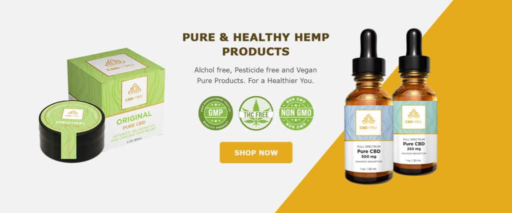 CBD•TRU CBD Coupon Code discounts promos save on cannabis online Store1