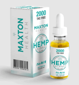 Maxton Health CBD Coupons Tincture