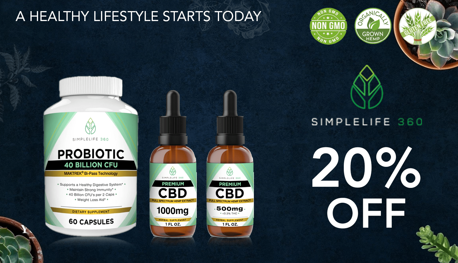SimpleLife360 CBD Coupon Code discounts promos save on cannabis online Website