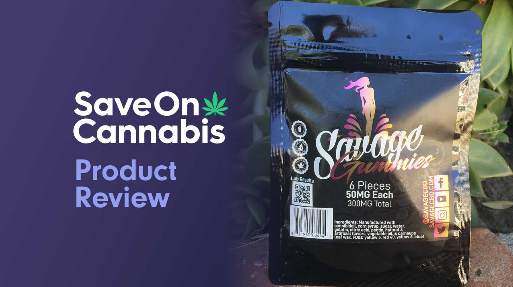 savage cbd driven Gummies review save on cannabis website redesigned