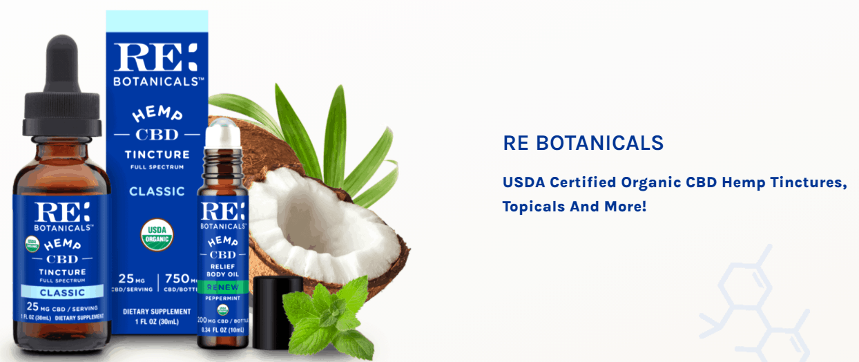Re Botanicals CBD Coupons Effective Products