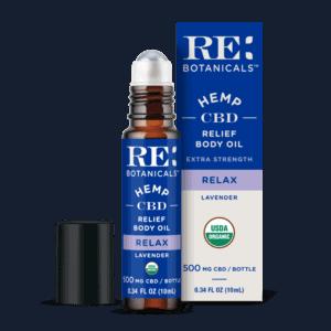 Re Botanicals CBD Coupons Extra Stregth Body Oil