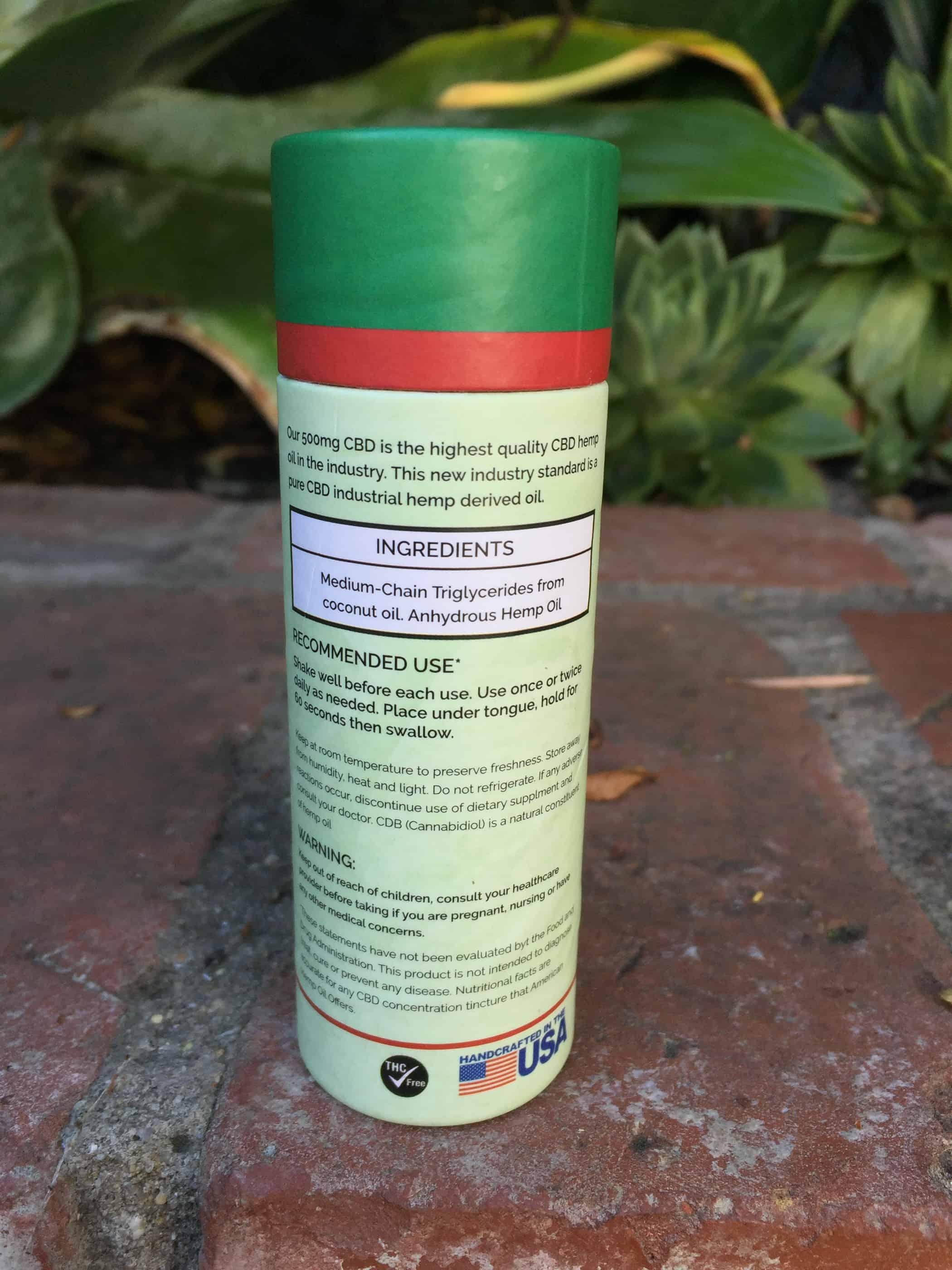 american hemp oil pure cbd hemp oil 500 mg review save on cannabis testing process