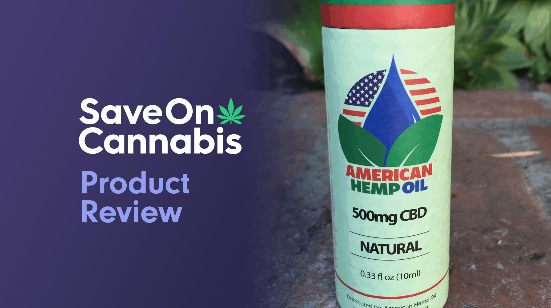 american hemp oil pure cbd hemp oil 500 mg review save on cannabis Website