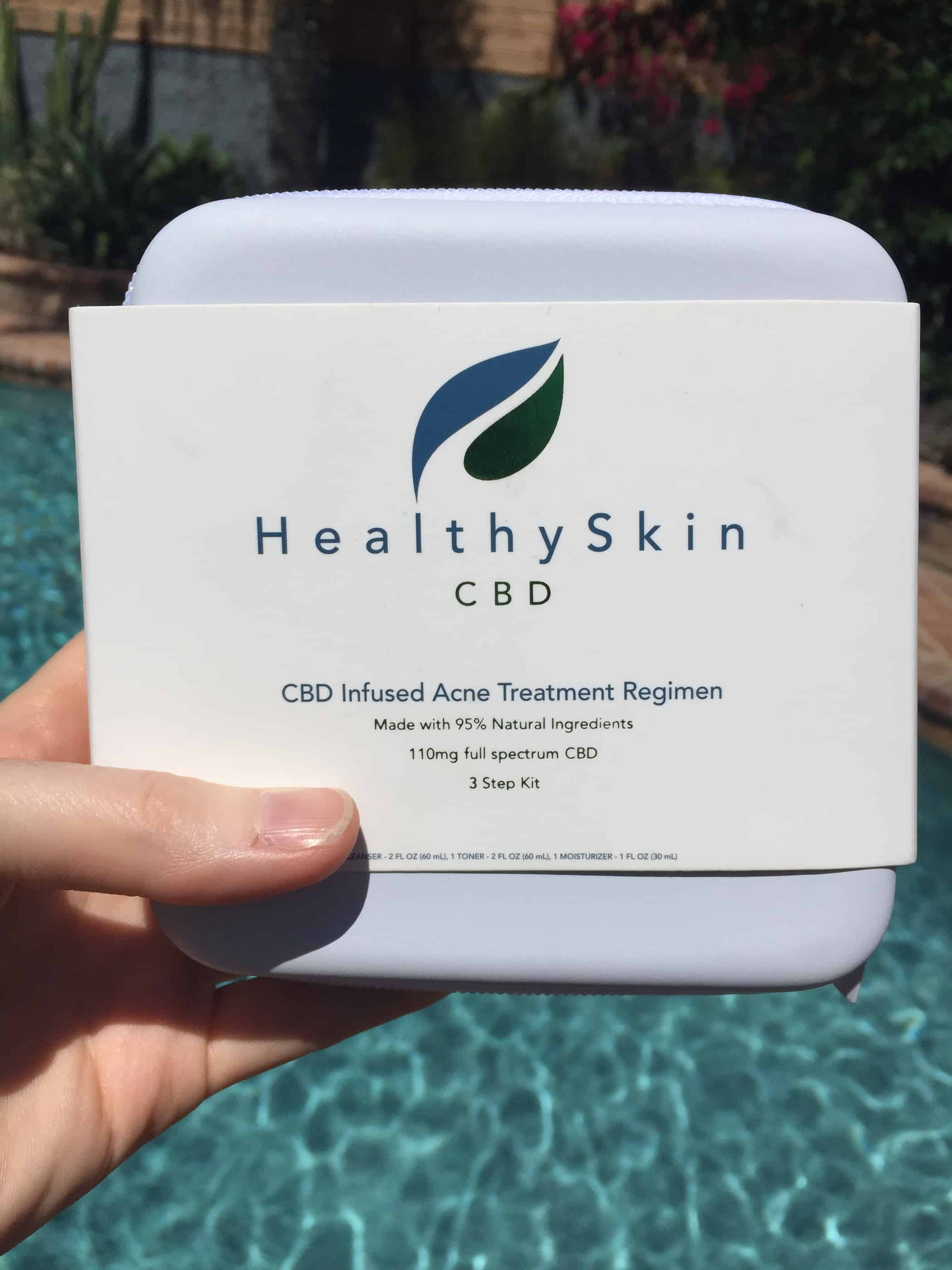 healthy skin cbd cbd infused acne treatment regimen review save on cannabis review