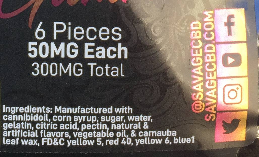 savage cbd driven Gummies review save on cannabis specification