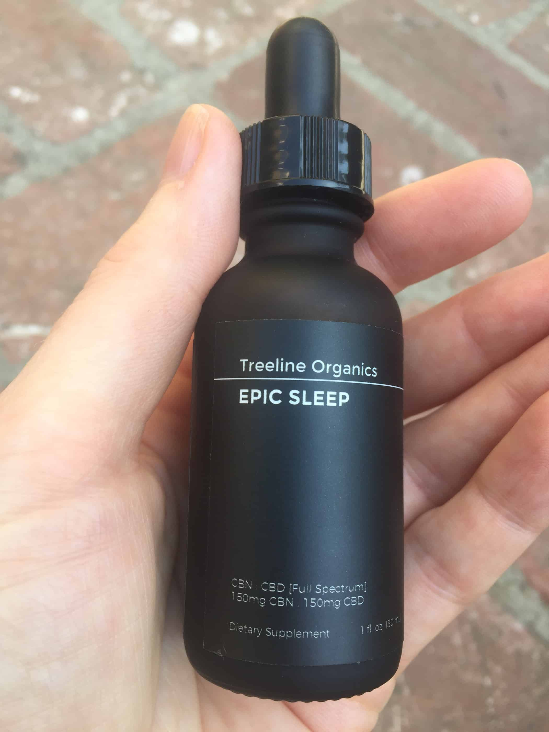 treeline epic sleep tincture review save on cannabis review