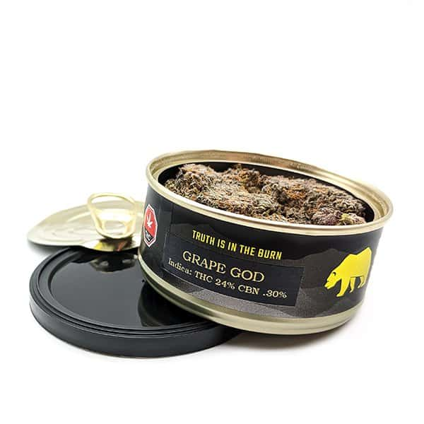 Budmail Tin Series Skookum Cannabis Grape God