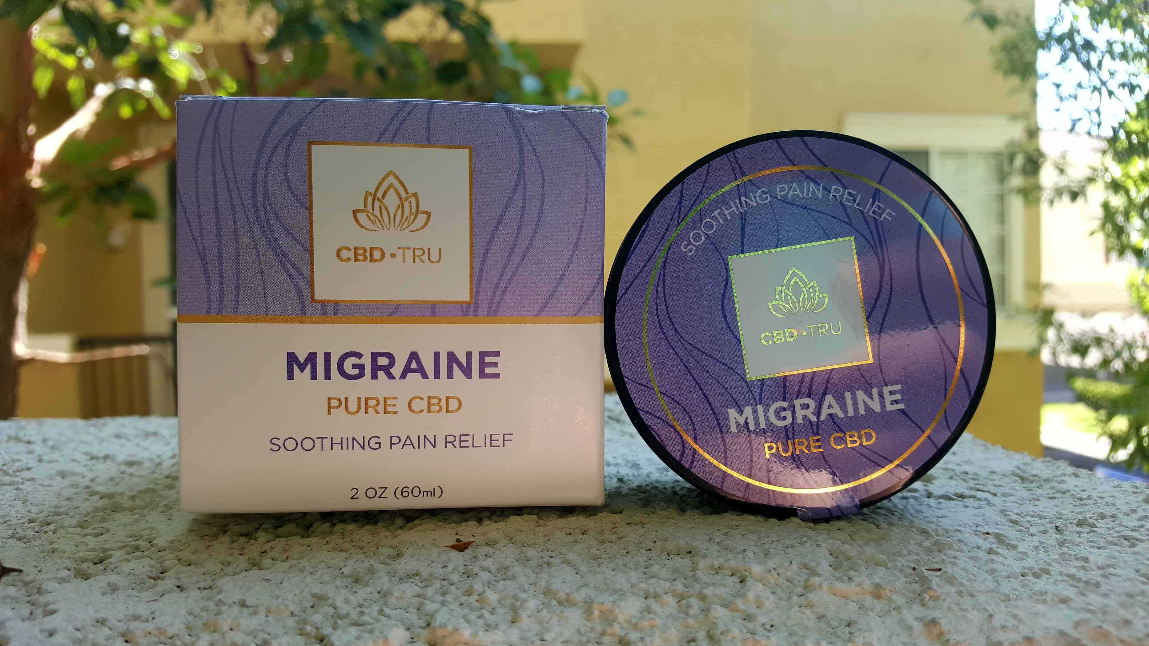 CBD Tru Review Migraine Salve Save On Cannabis Beauty Shot
