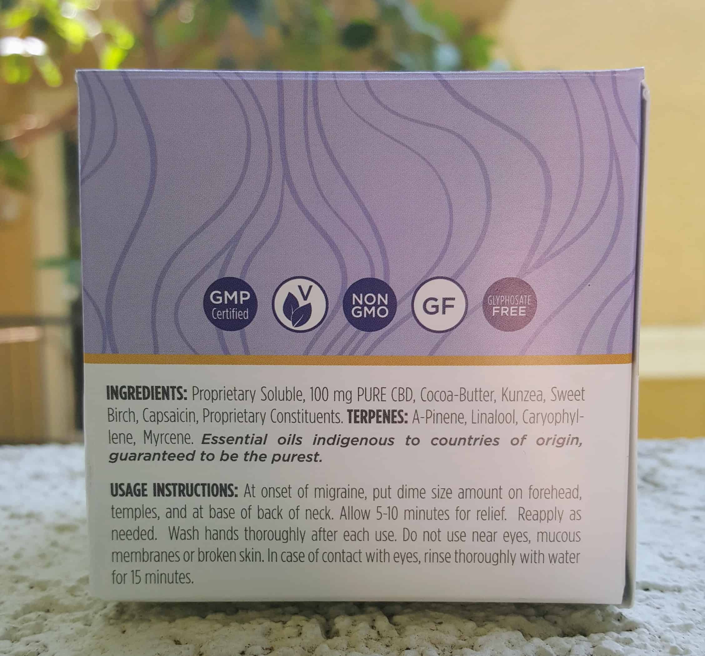 CBD Tru Review Migraine Salve Save On Cannabis Specification
