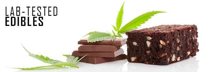Cannabis cake and chocolate
