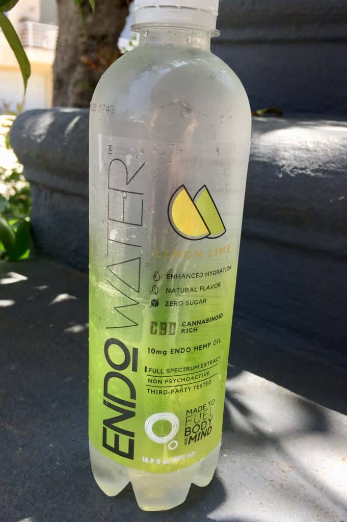 Endo Water CBD Main Bottle Review