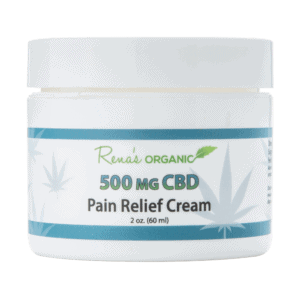 Rena's Organic CBD Pain Relief Cream