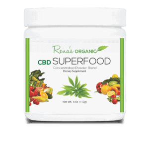 Rena's Organic CBD Coupons Super Food Powder
