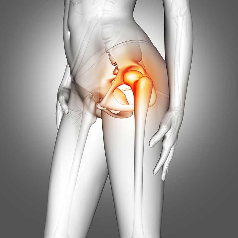 lower back pain point