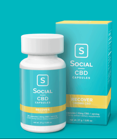 Social CBD capsules