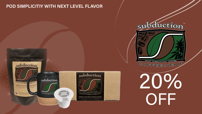 get subduction coffee hemp coupon codes here