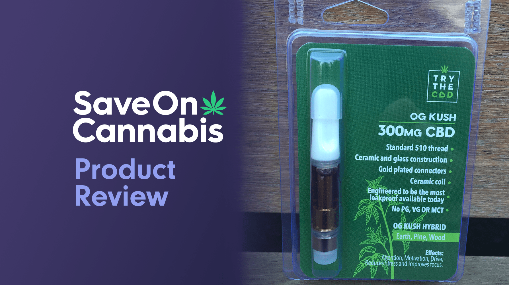 trythecbd og kush cbd vaporizer pen cartridge 300 mg review save on cannabis website