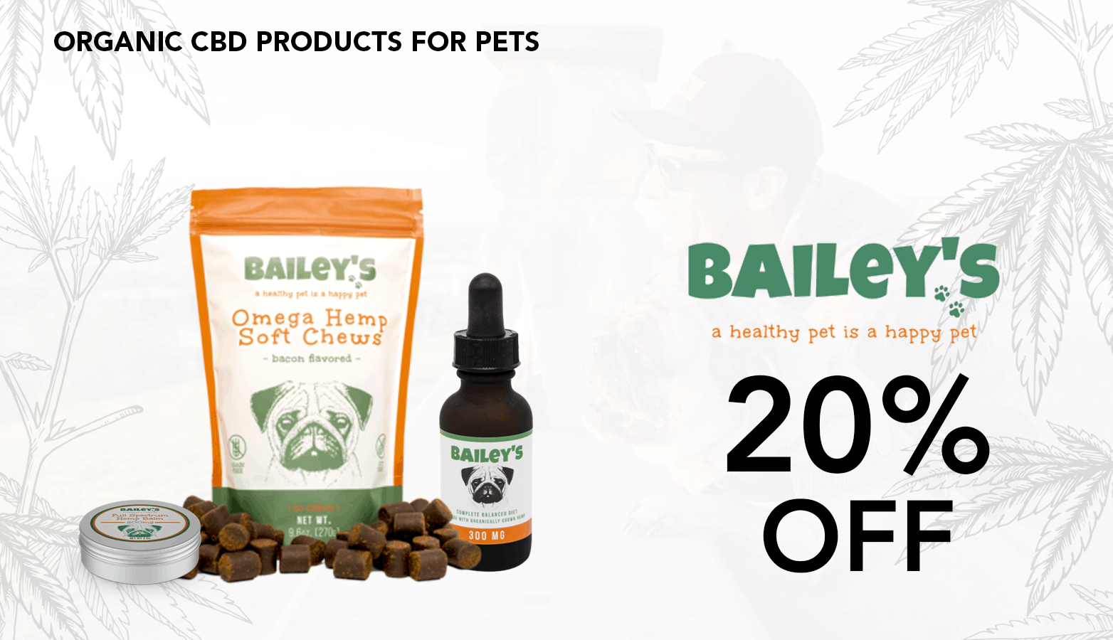 Bailey's CBD Coupon Code Discount
