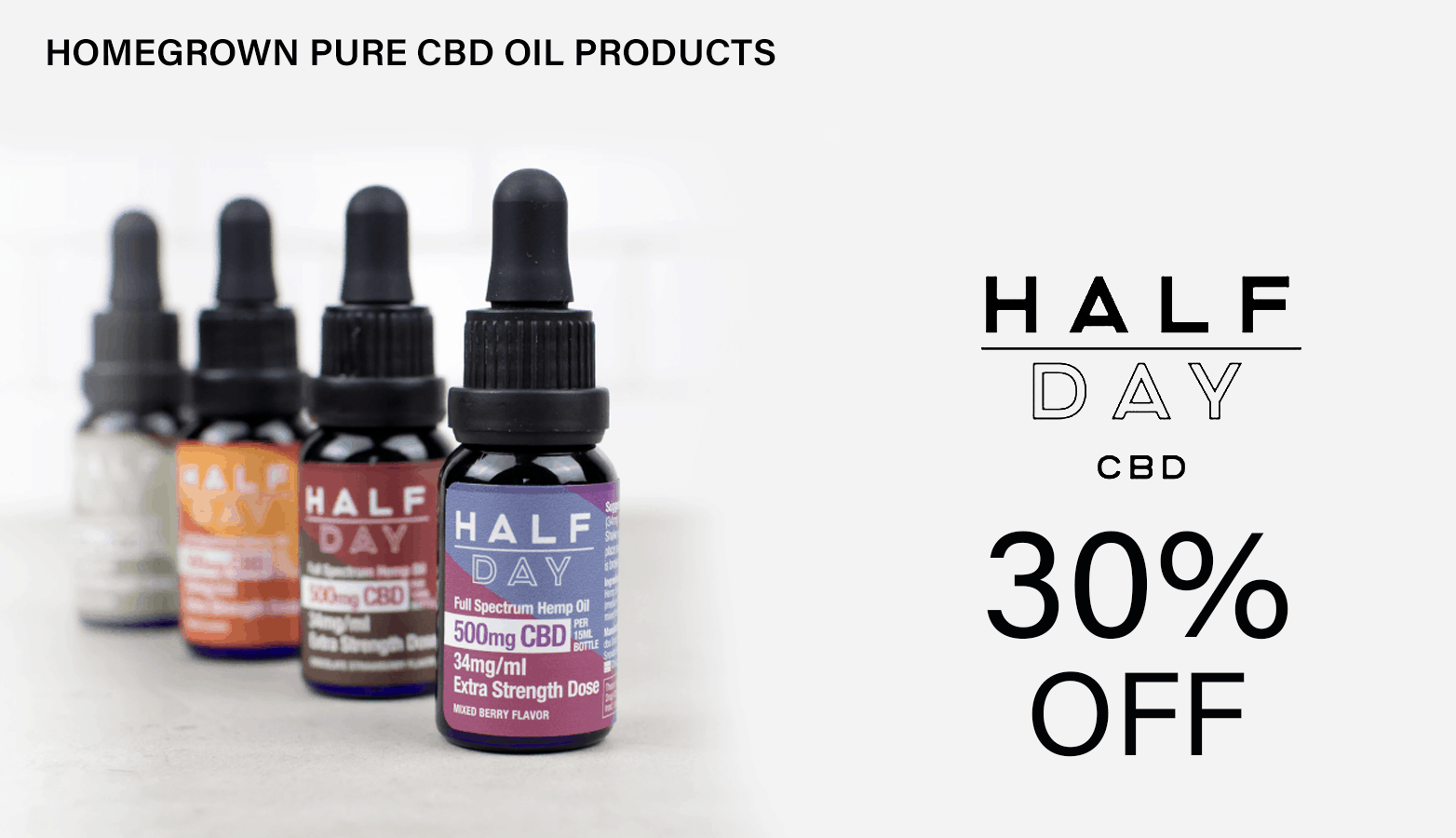 Half Day CBD Coupon Graphic
