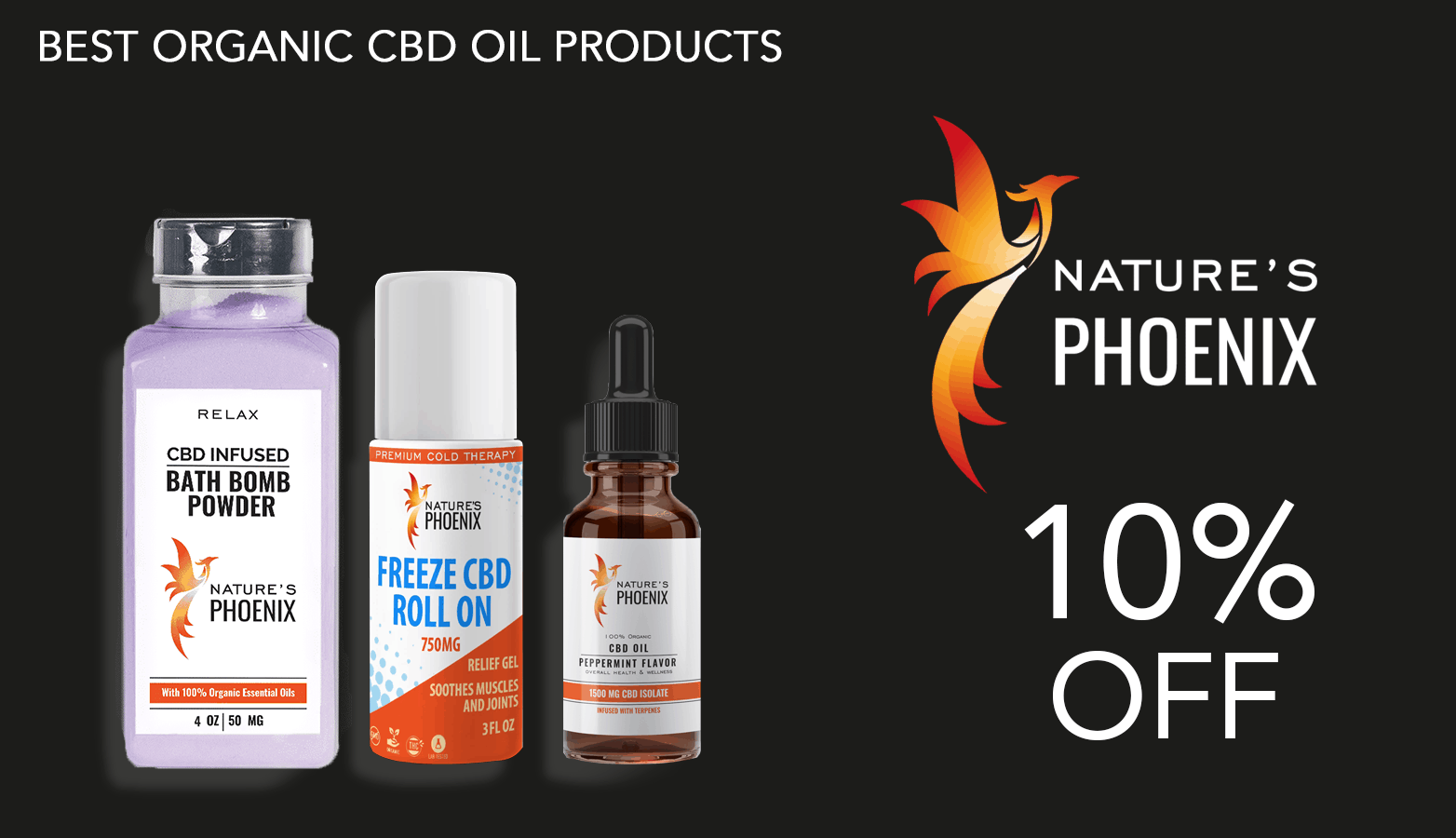 Nature's Phoenix CBD Coupon Code Discount