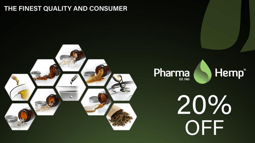 Pharmahemp coupon code discount