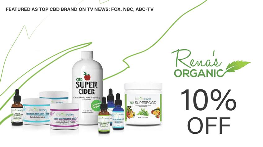Rena's Organic CBD discount