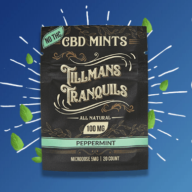 Tillmans Tranquils Coupon Code CBD Solution