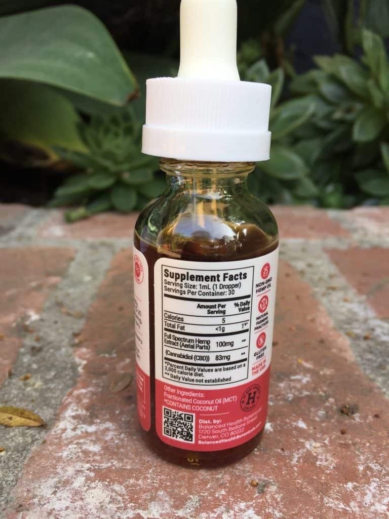 cbdistillery full spectrum cbd oil tincture 2500 mg save on cannabis specifications
