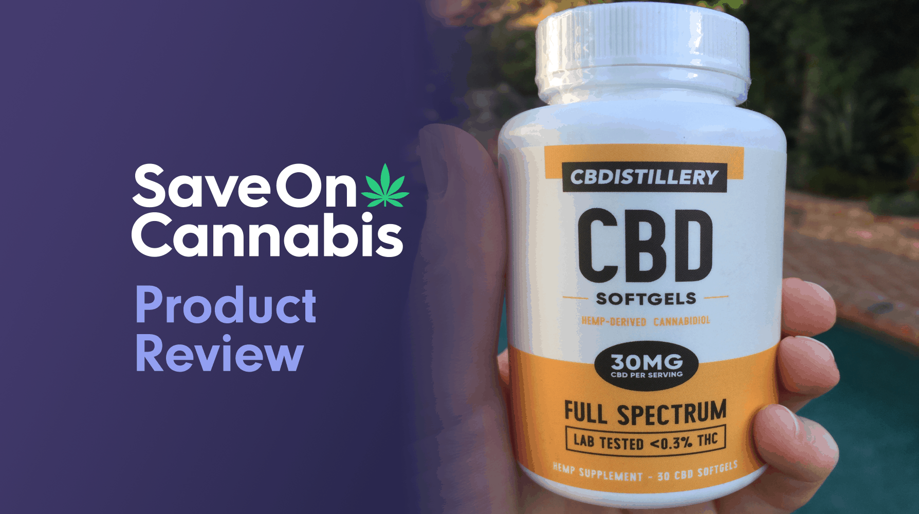 cbdistillery full spectrum cbd softgels save on cannabis review website