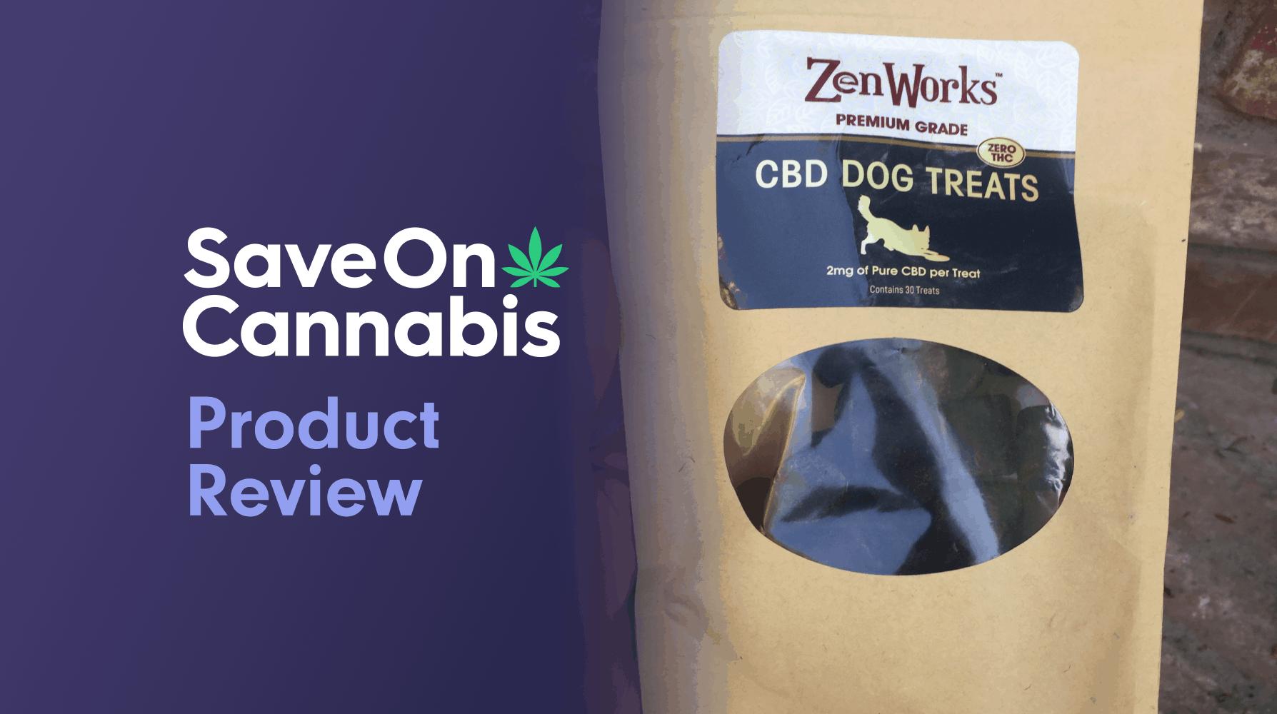 ZenWorks CBD dog treats review save on cannabis Website