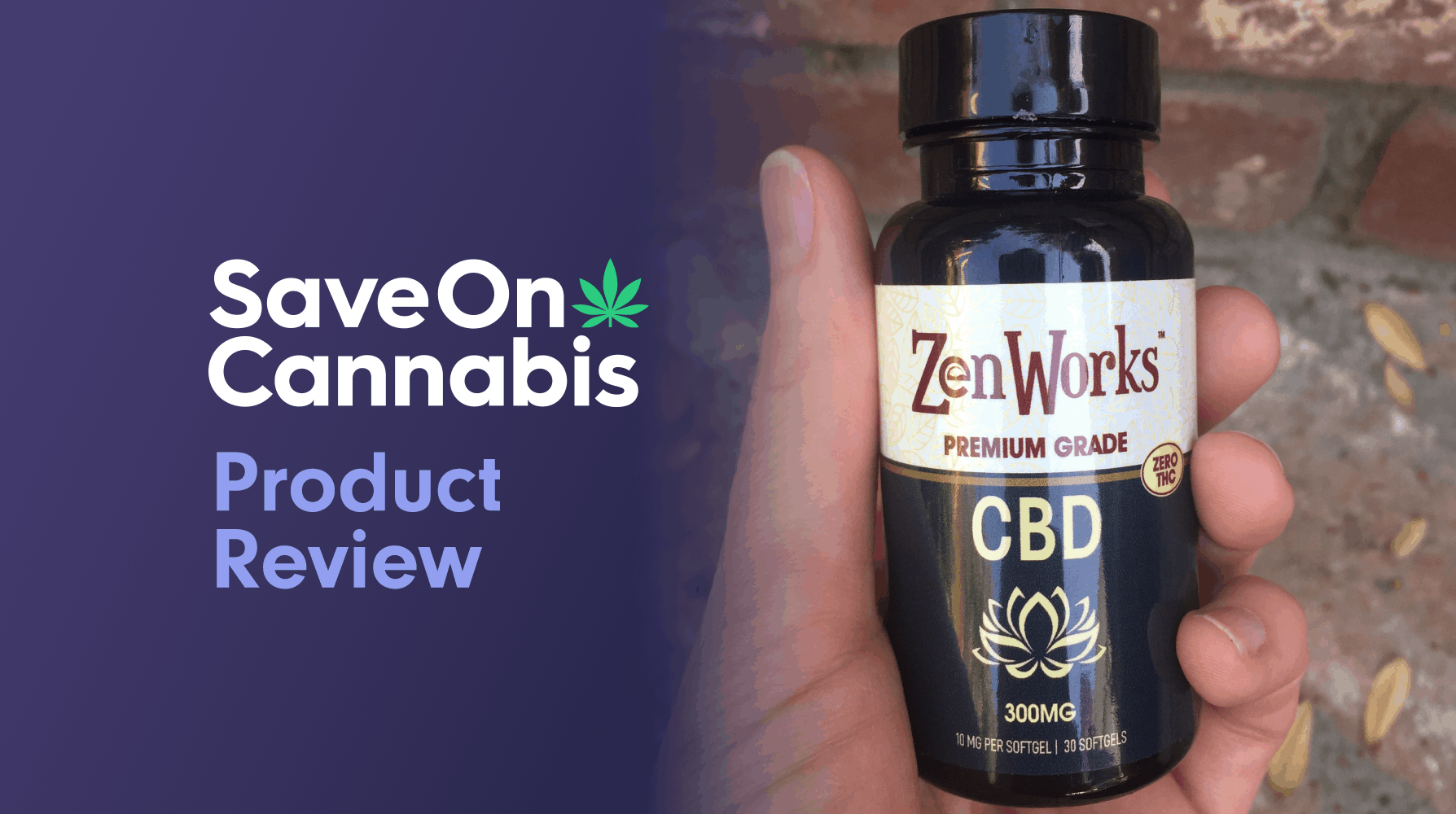 ZenWorks cbd softgel capsules save on cannabis website