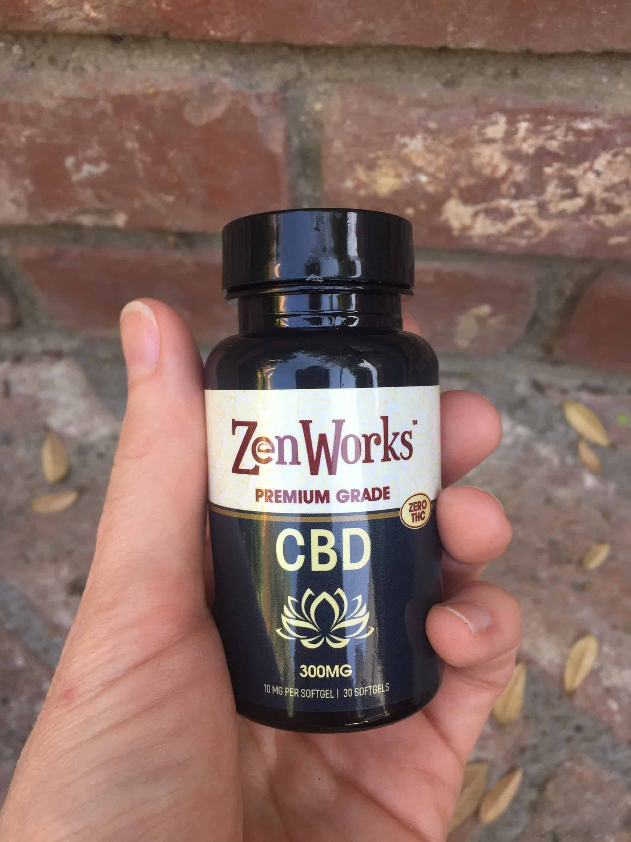 ZenWorks cbd softgel capsules save on cannabis review