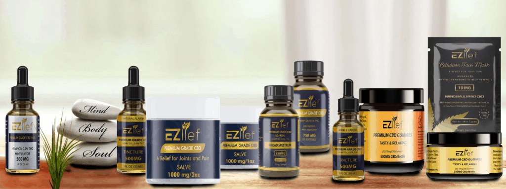 Ezlief Coupon Code All CBD products