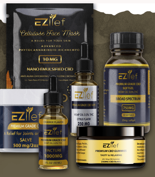 Ezlief Coupon Code CBD Proucts